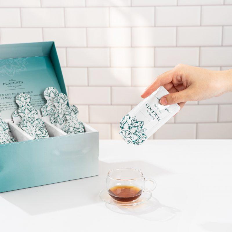 Nuoc Nhau thai ngua dua Be White Premium Placenta japan