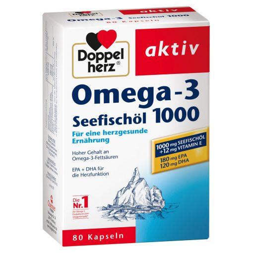 Omega 3 Seefischöl 1000 Doppelherz aktiv