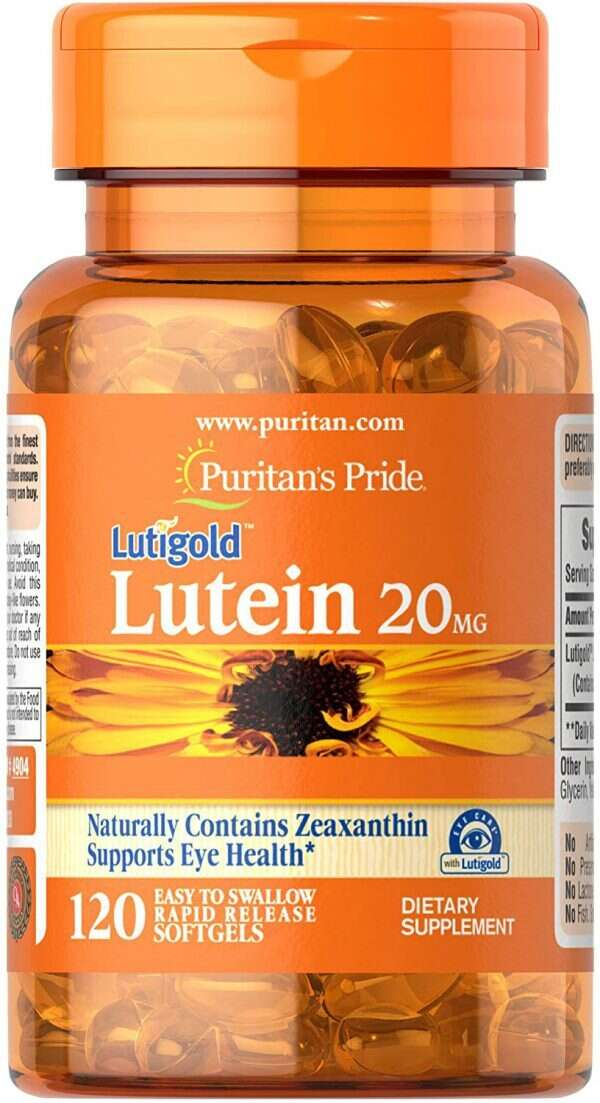 Puritans Pride Lutein 20 mg