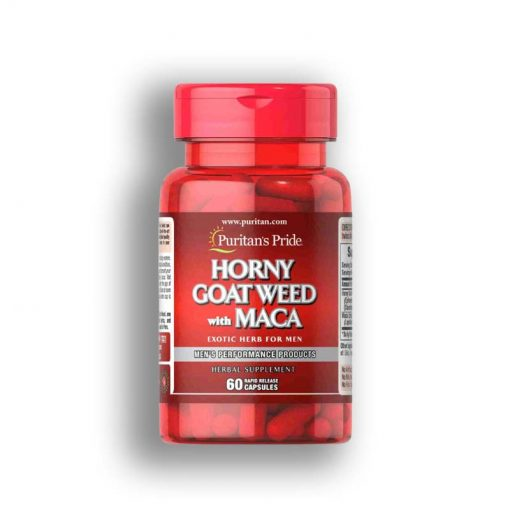 Vien uong Puritans Pride Horny Goat Weed with Maca
