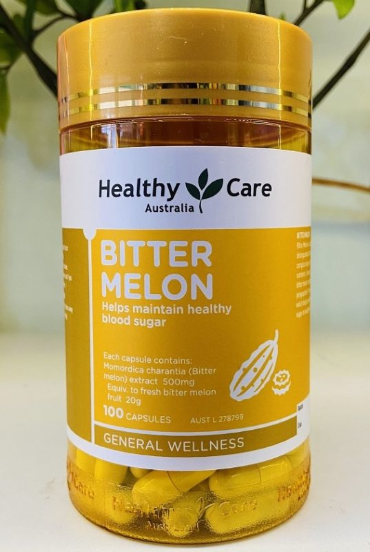 Vien uong tieu duong Healthy Care Bitter Melon