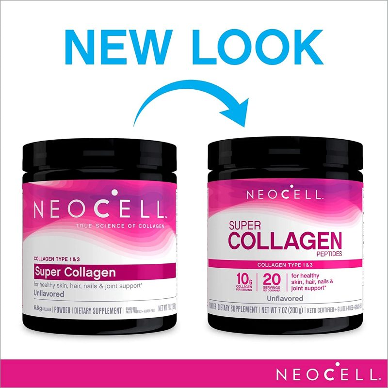 bot super collagen neocell peptides type 13 66000mg new