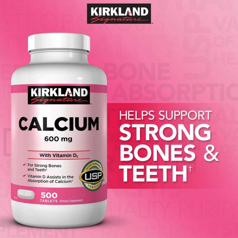 canxi kirkland calcium 600mg d3