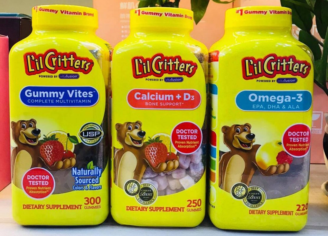 canxi lil critters calcium vitamin d3