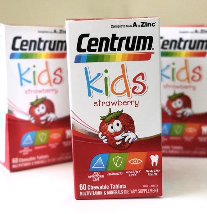 centrum kids 60 vien