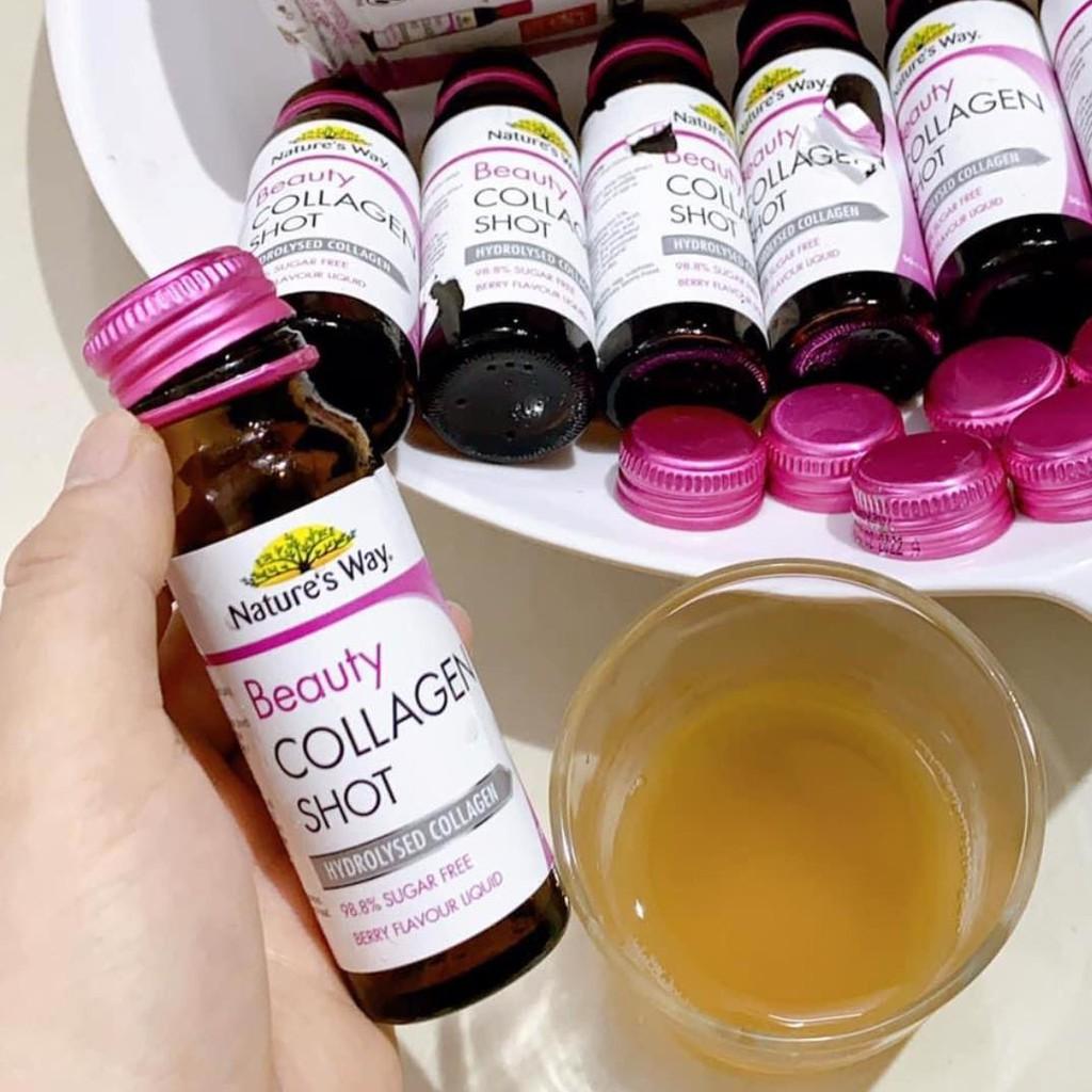 collagen collagen dang nuoc natures way beauty collagen shot