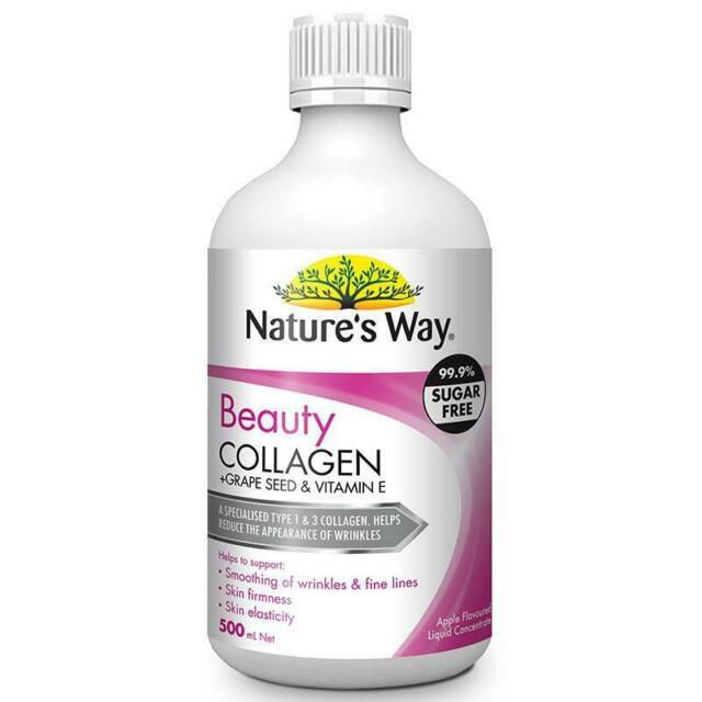 collagen dang nuoc nature s way beauty collagen liquid uc