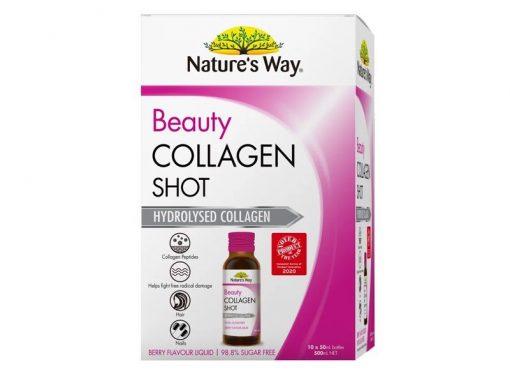 collagen natures way beauty collagen shot dang nuoc