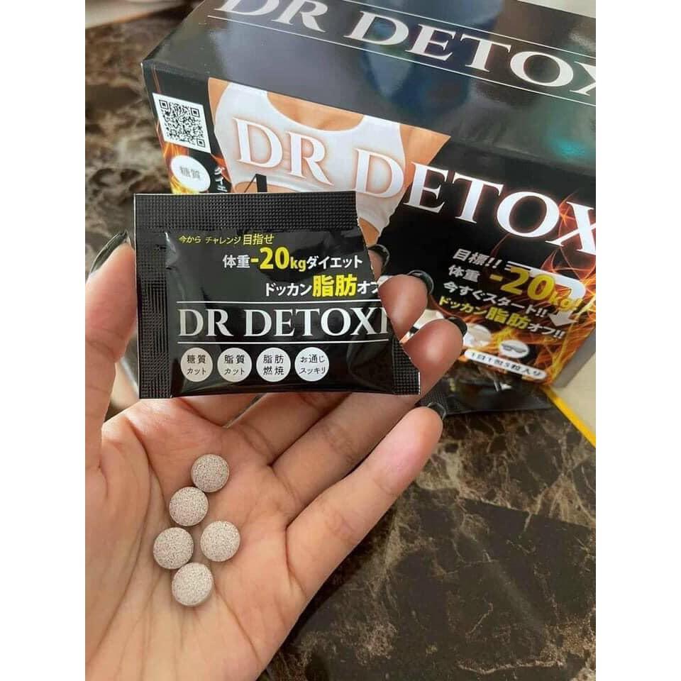giam can thai doc dr detoxi 4d nhat ban