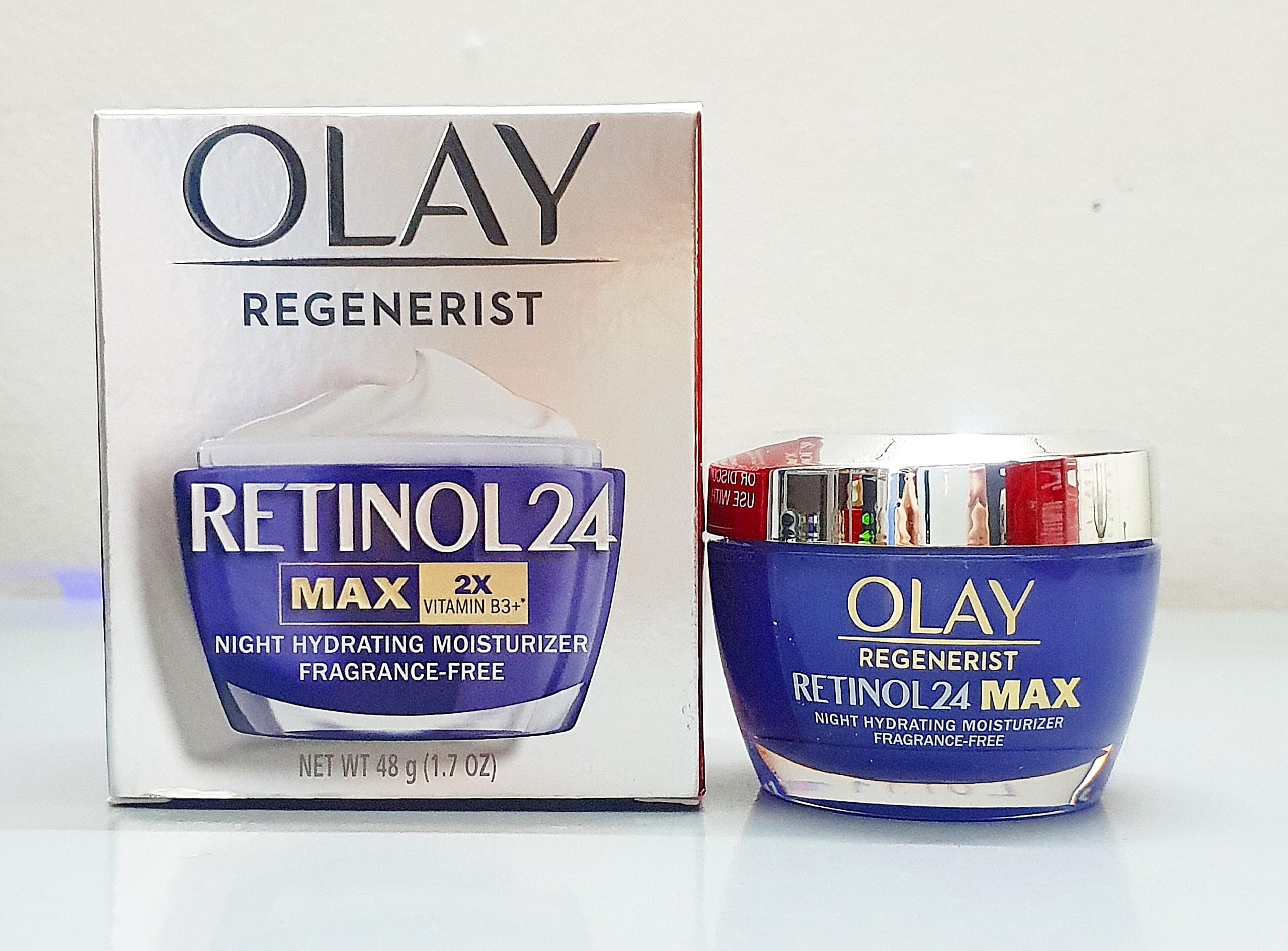 kem duong da ban dem olay retinol 24 max 2x vitamin b3