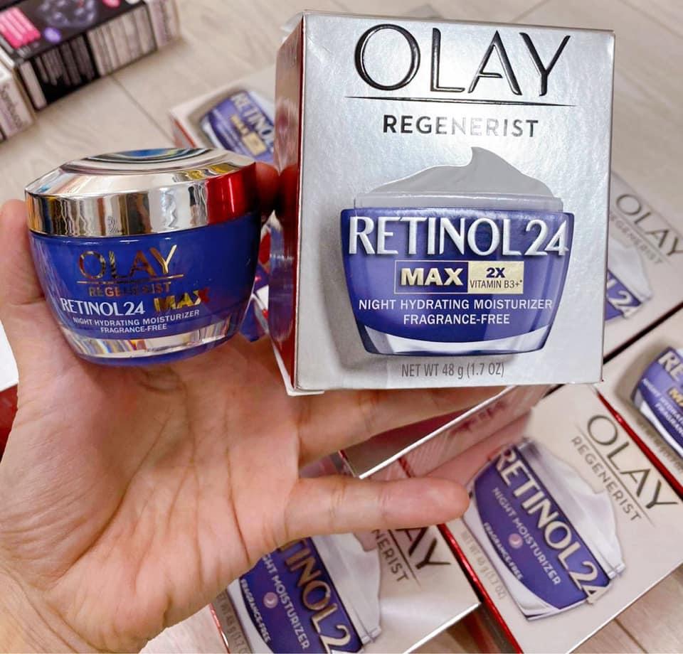 kem duong da olay regenerist retinol 24 max 2x vitamin b3