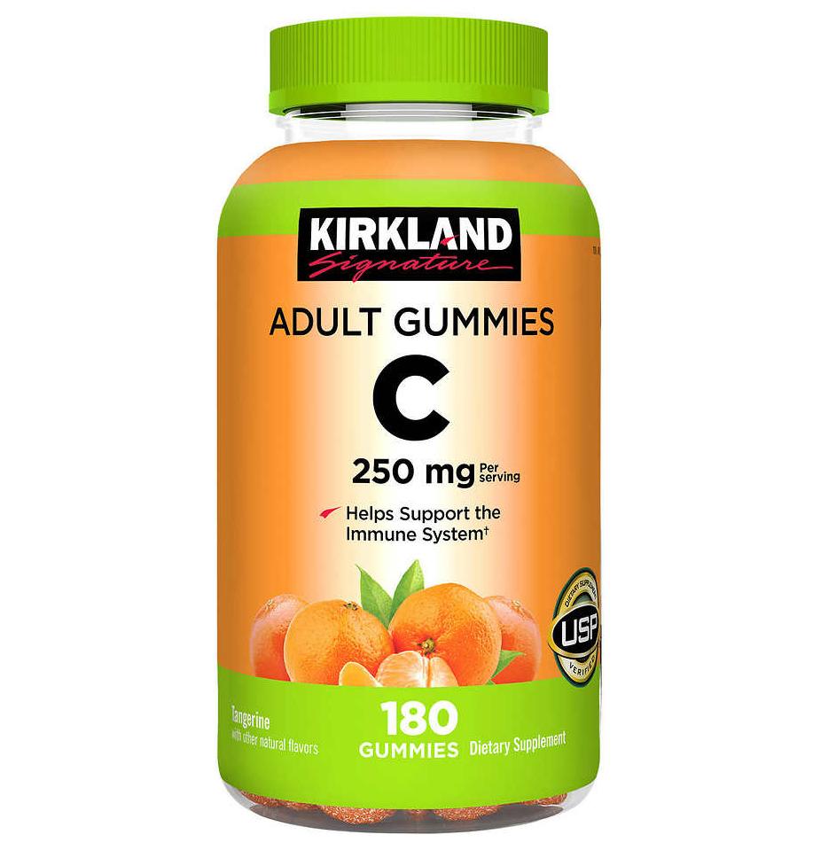 keo deo bo sung vitamin c kirkland 250mg cho nguoi lon