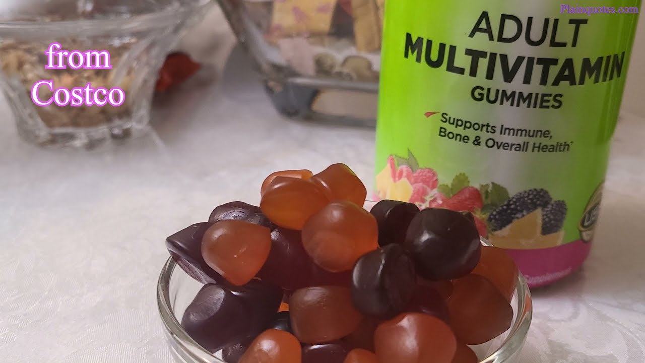 keo deo bo sung vitamin kirkland signature adult multivitamin gummies cua my