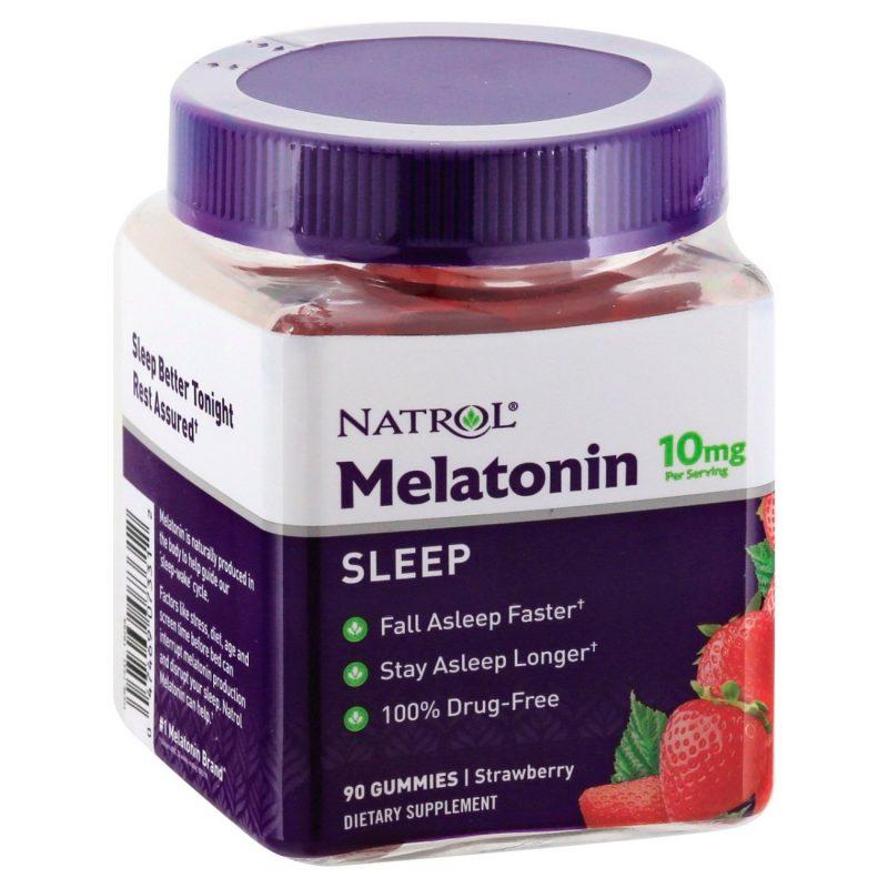 keo deo giup ngu ngon natrol gummies melatonin sleep 10mg