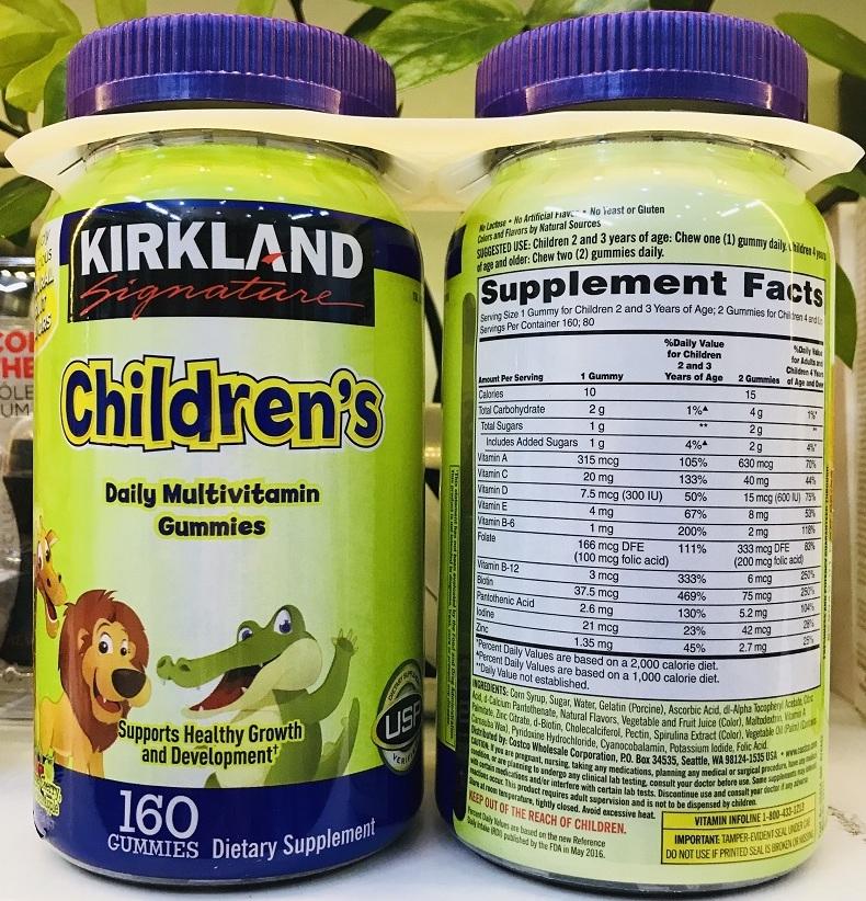 keo deo gummies kirkland signature childrens complete multivitamin