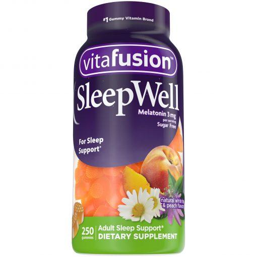 keo deo ho tro ngu ngon vitafusion sleep well melatonin 3mg