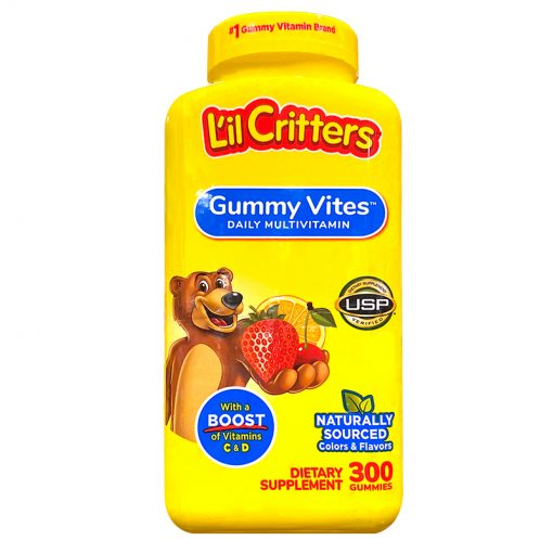 keo deo lil critters gummy vites daily multivitamin