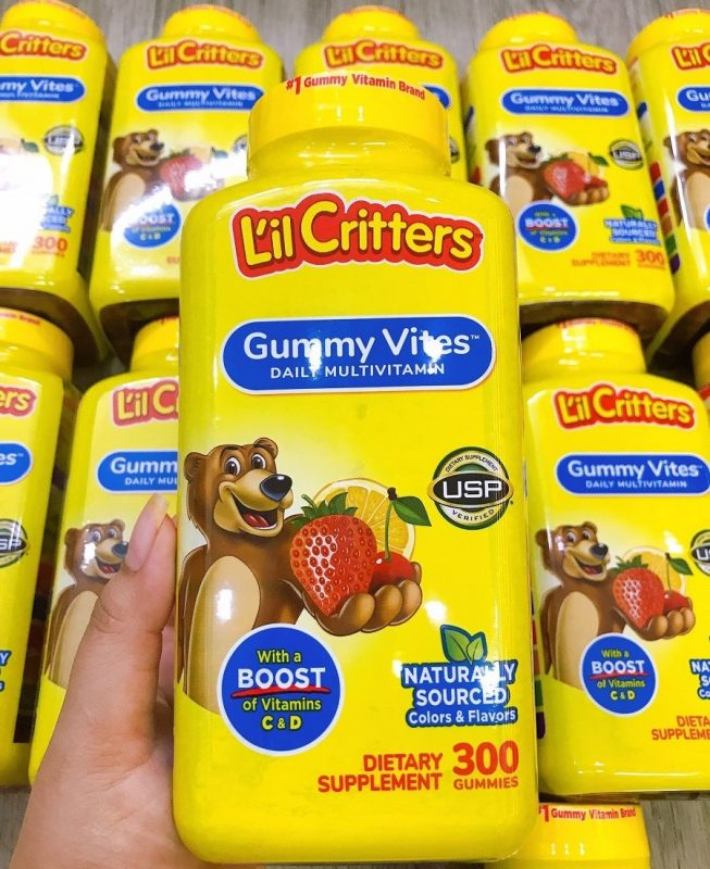 keo deo lil critters gummy vites daily multivitamin cua my