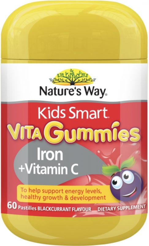 keo deo natures way kids smart vita gummies iron vitamin c