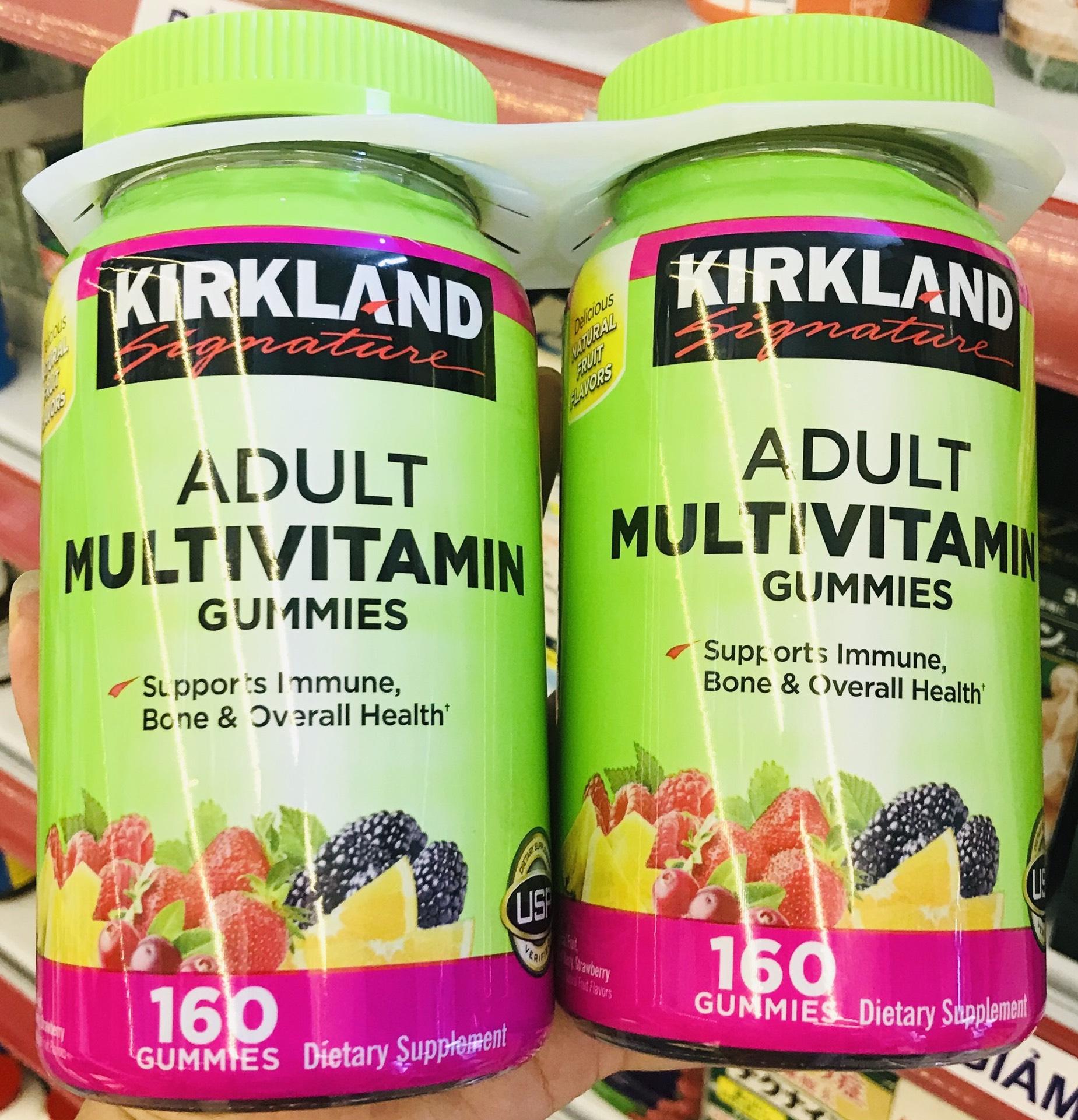 keo deo vitamin kirkland signature adult multivitamin gummies