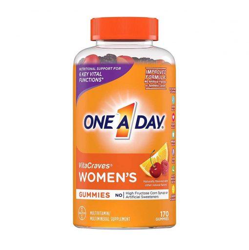 keo vitamin one a day women s vitacraves gummies 230 vien cua my