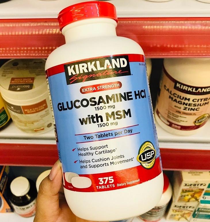 kirkland glucosamine cua my