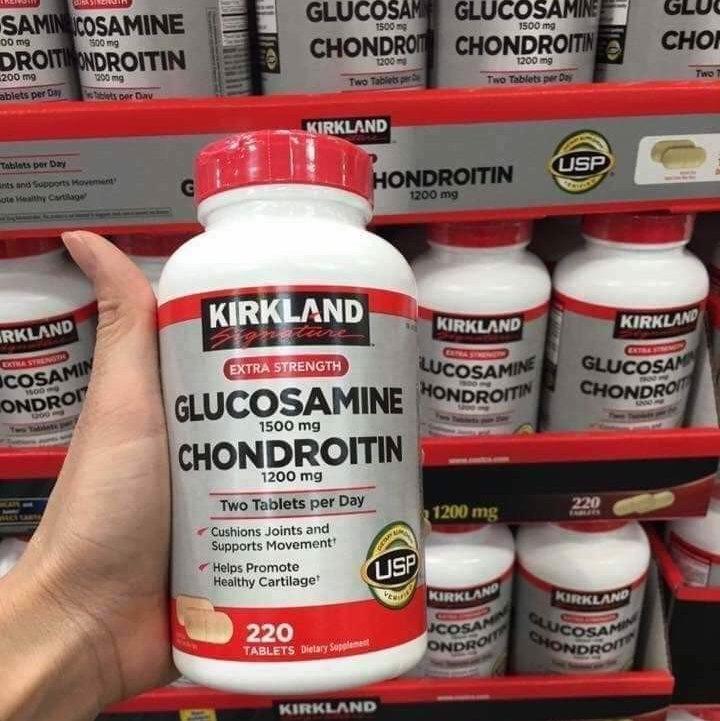 kirkland signature glucosamine 1500mg chondroitin 1200mg