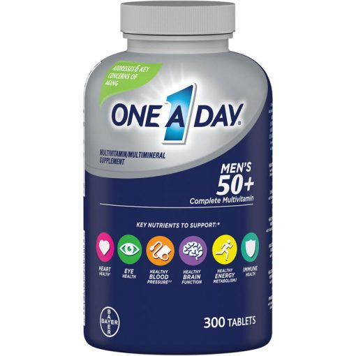 multivitamin one a day mens 50 complete cua my