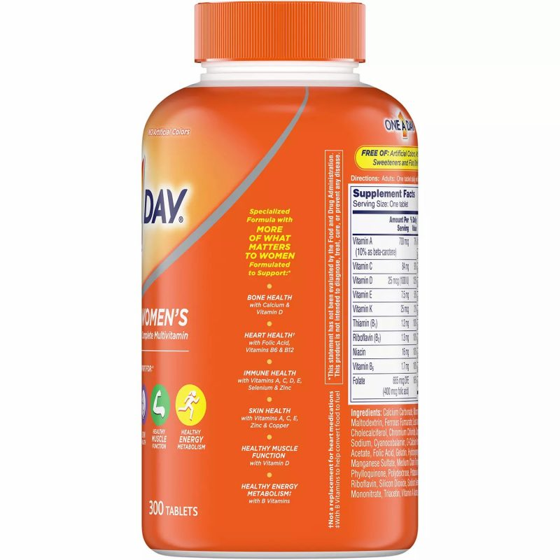 multivitamin one a day womens complete
