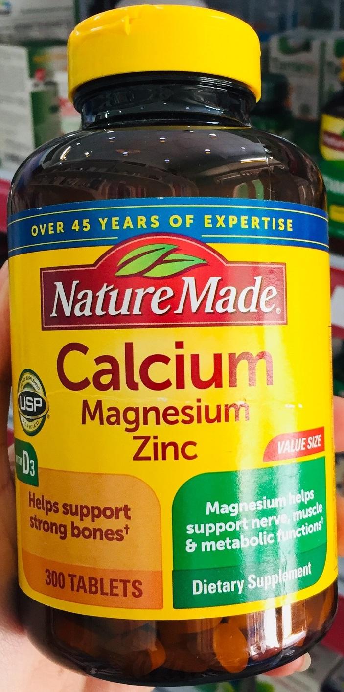nature made calcium magnesium zinc d3