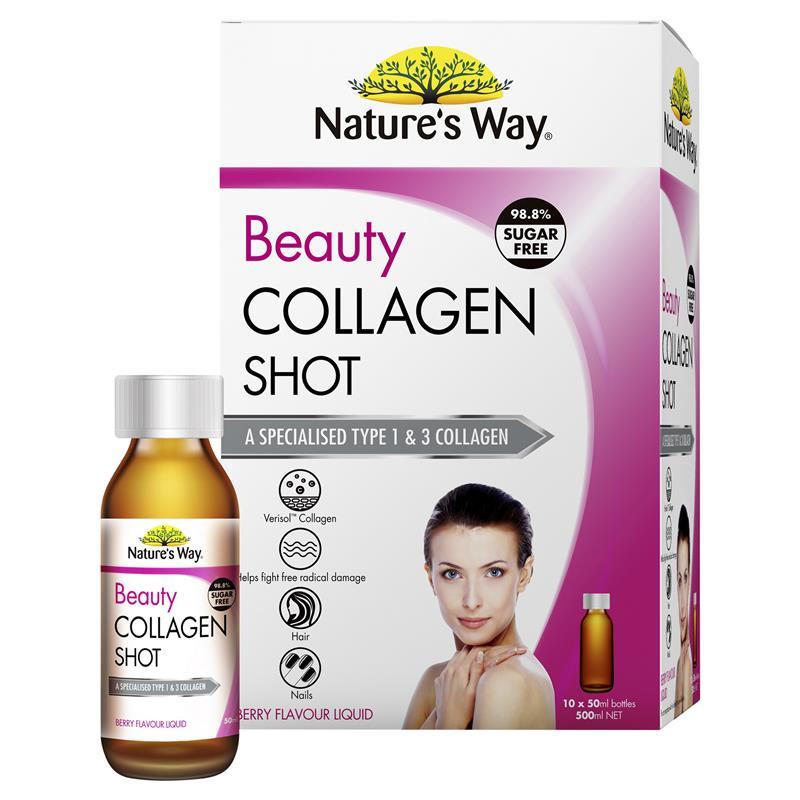 natures way collagen shot mau moi
