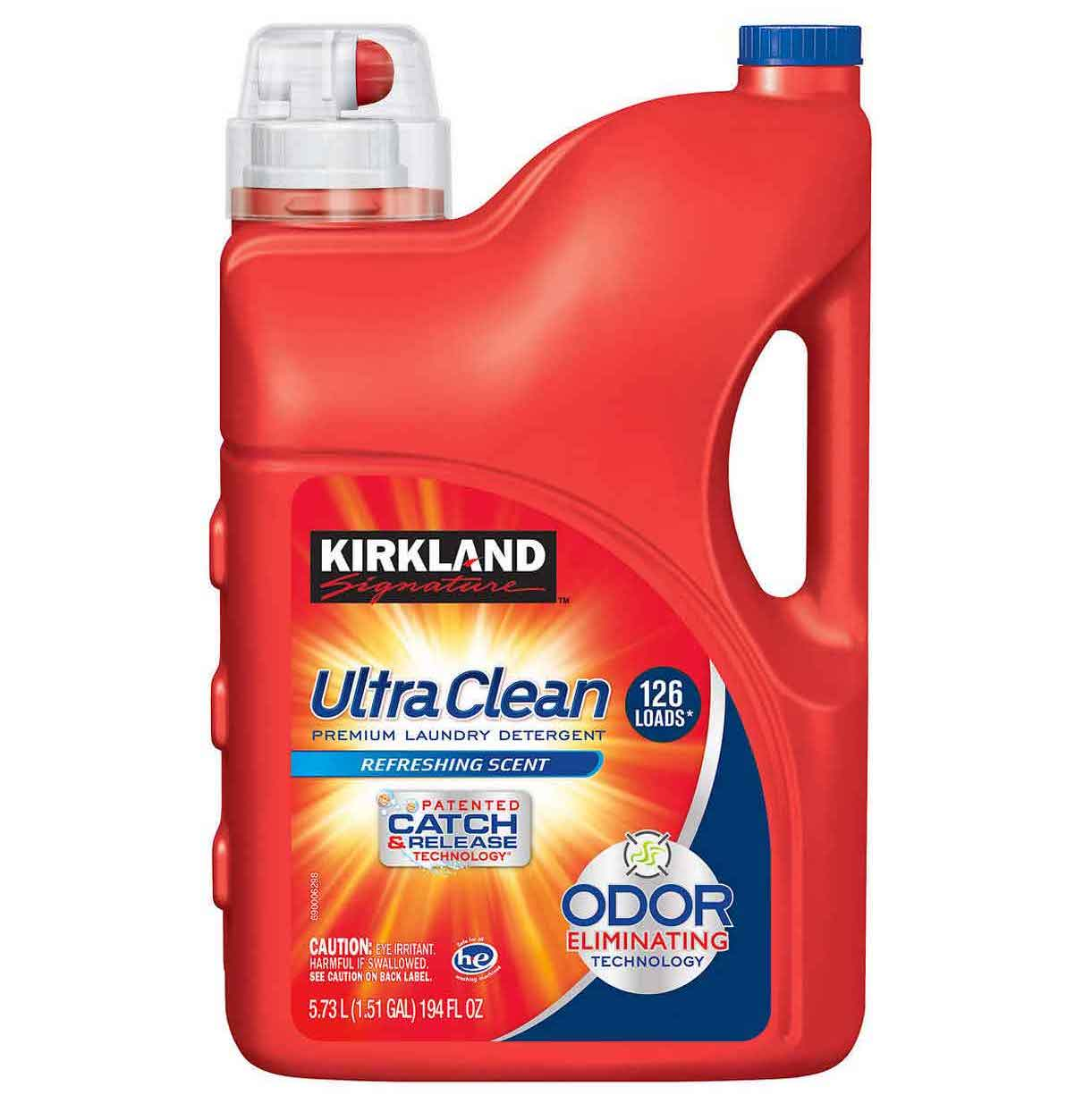 nuoc giat tay trang kirkland signature ultra clean laundry detergent he