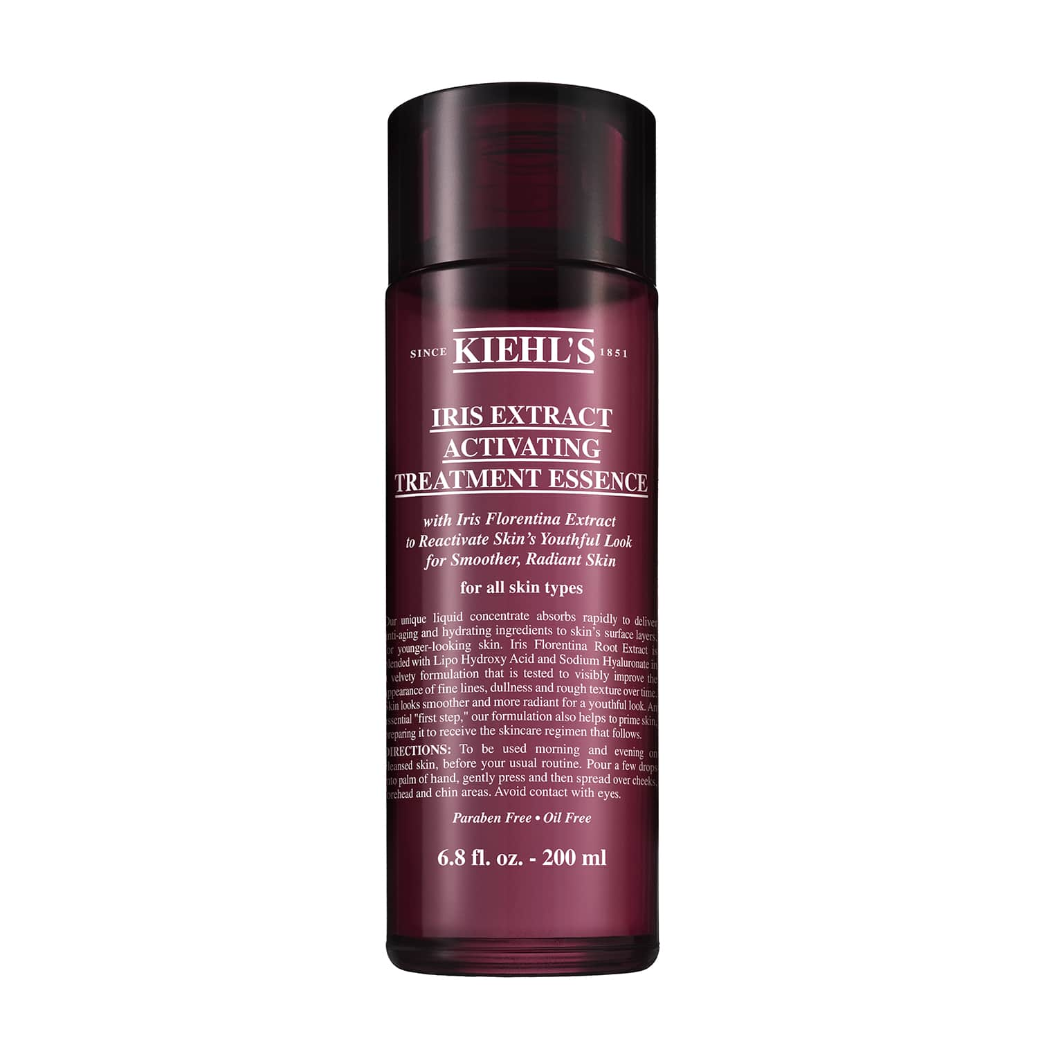 nuoc than chong lao hoa kiehls iris extract activating treatment essence