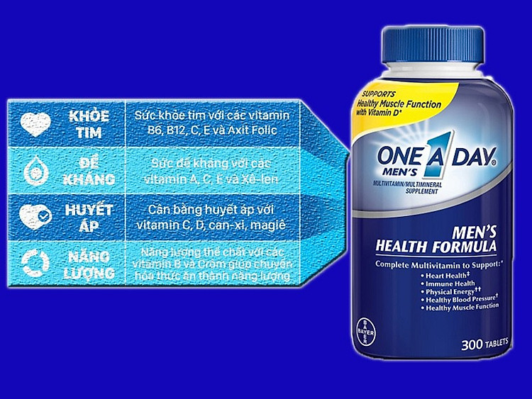 one a day men s multivitamin health formula cua my