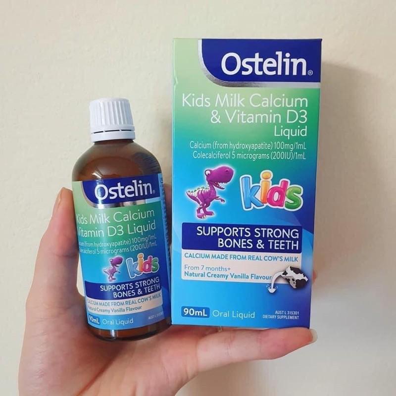siro canxi ostelin kids milk calcium vitamin d3