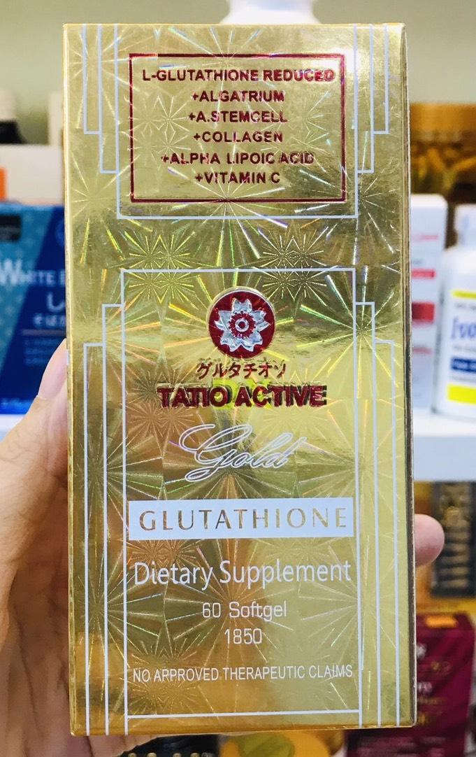 tatio active gold glutathione 1850mg