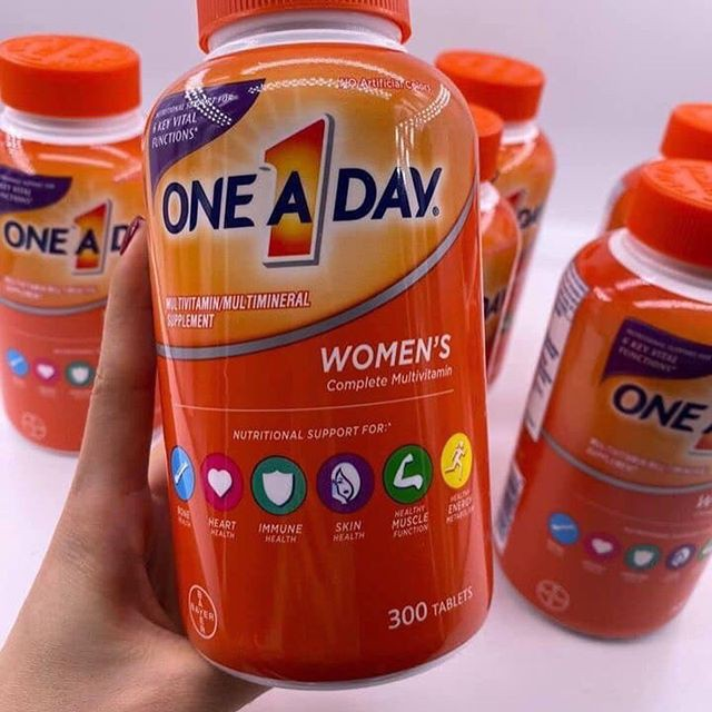 thanh phan multivitamin a one day 50 complete