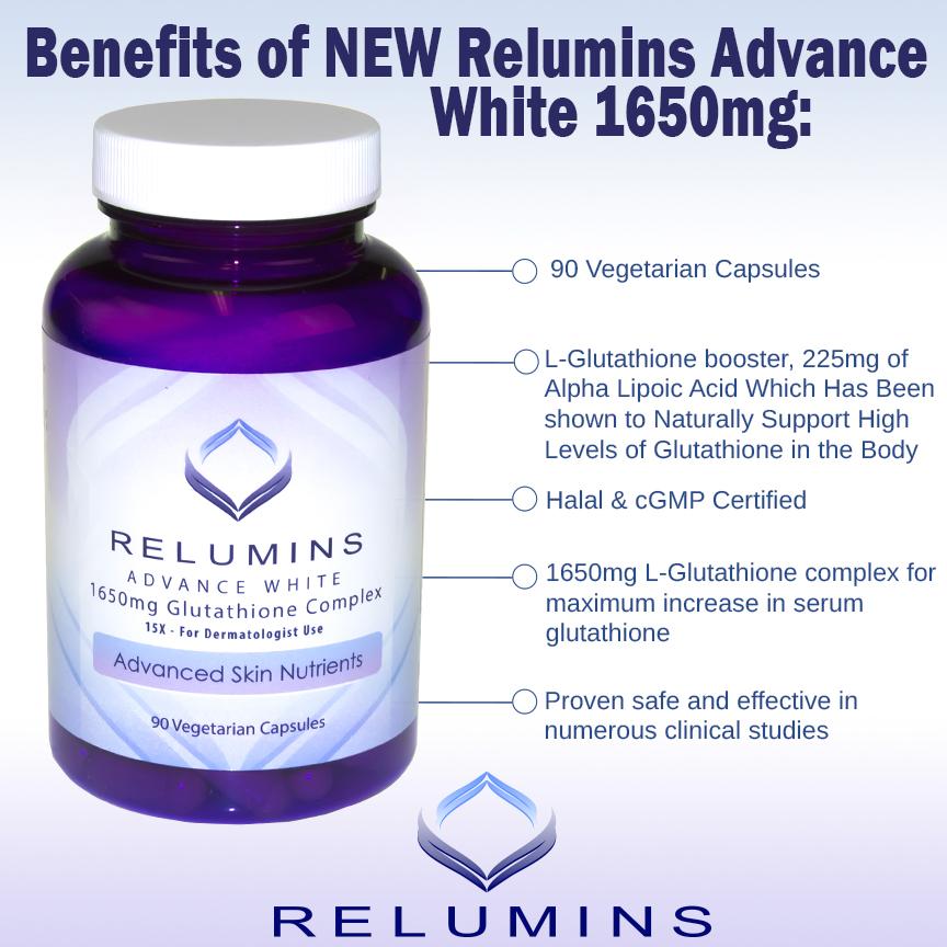 thanh phan vien uong trang da nhau thai relumins advance white