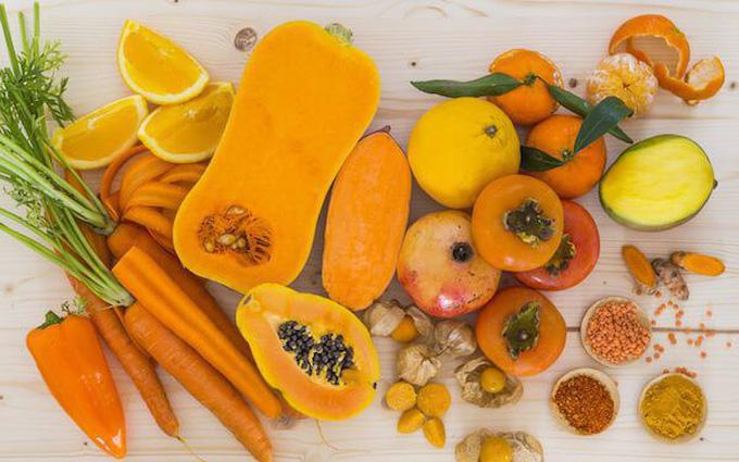 thuc phan chua carotene
