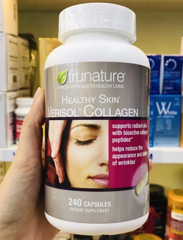 trunature verisol collagen dang vien