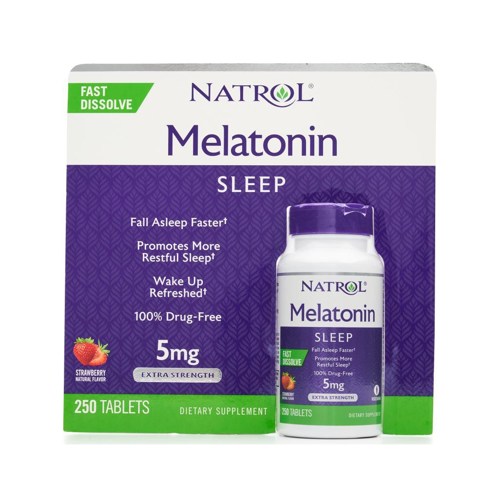 vien cai thien giac ngu natrol melatonin sleep 5mg my