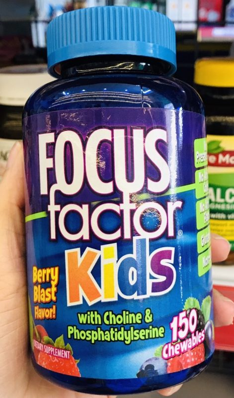 vien ngam phat trien tri nao cho tre em focus factor kids