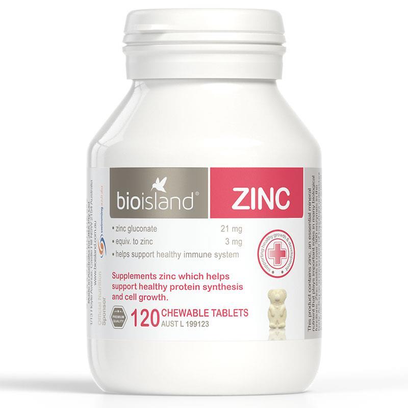 vien nhai bo sung kem bio island zinc cho be