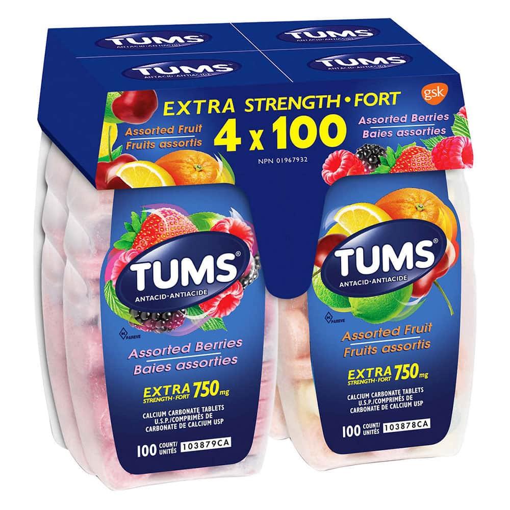 vien nhai tri dau da day tums assorted berries 100 vien cua my