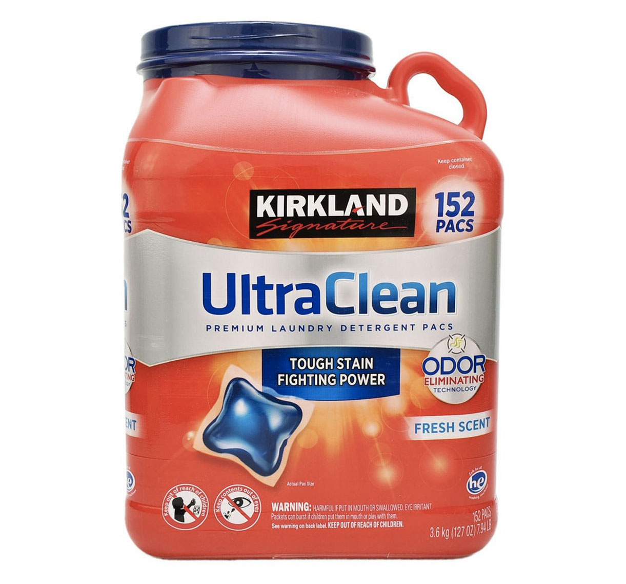 vien nuoc giat quan ao kirkland signature ultra clean