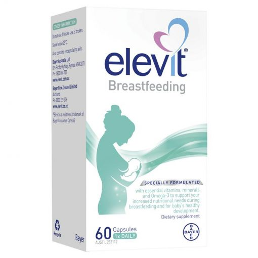 vien uong bo elevit breastfeeding sau sinh va cho con bu