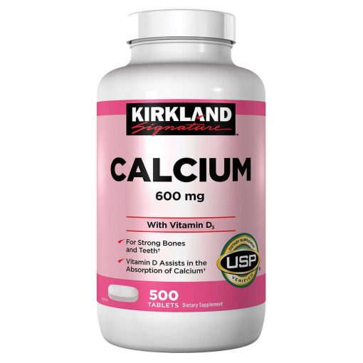 vien uong bo sung canxi kirkland calcium 600mg d3