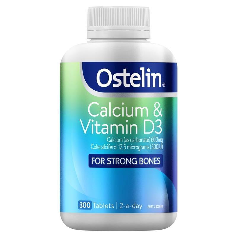 vien uong bo sung canxi ostelin calcium vitamin d3 cua uc