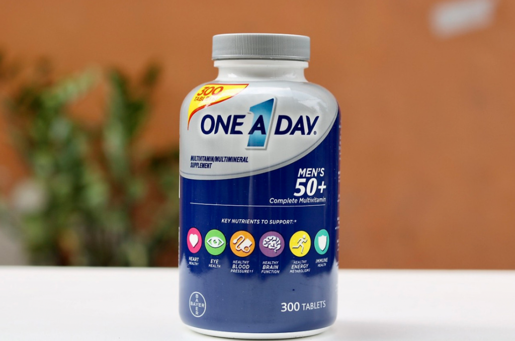 vien uong bo sung multivitamin one a day mens 50 complete cua my