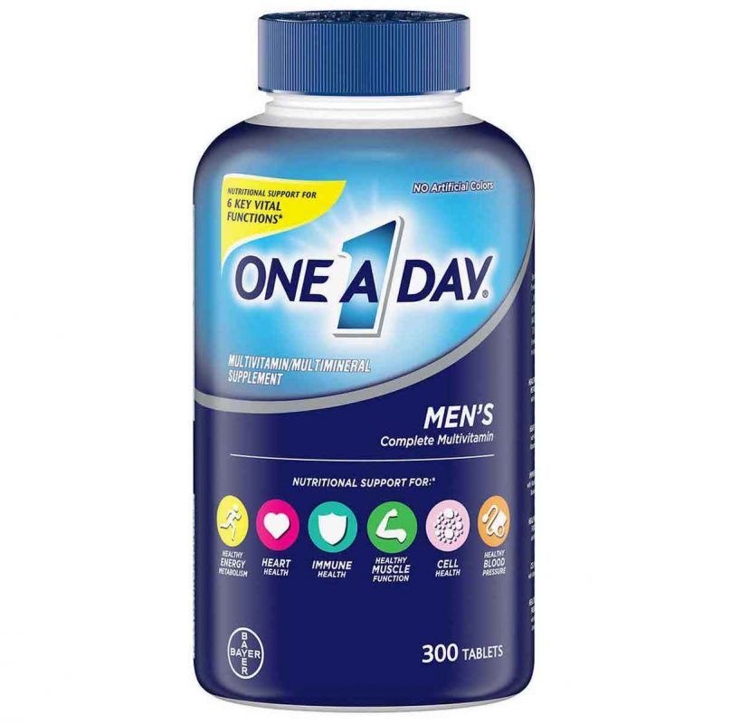 vien uong bo sung multivitamin one a day mens